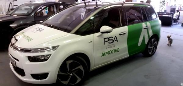 Aimotive Citroen & Aimotive toyota autófóliázás car wrapping