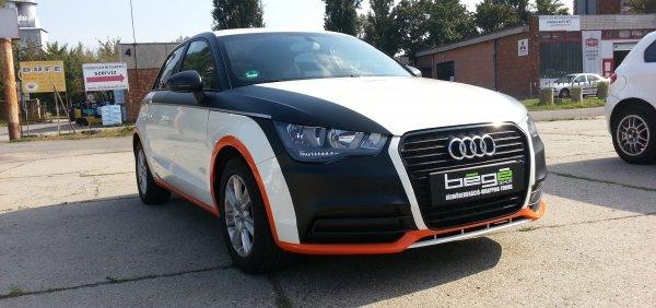 Audi s1 Avery car wrapping autófóliázás