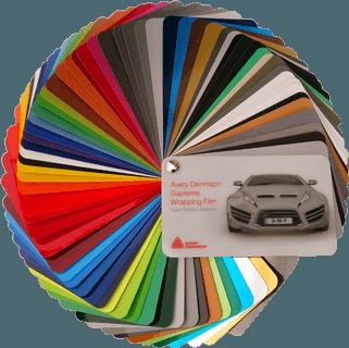 Karosszéria fólia színek