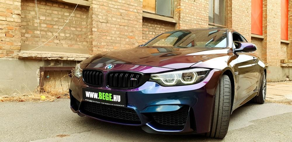 Bmw M4 3m 1080 Flip Deep Space Wrapped Car Wrap Wrapping Autofoliazas Matrica Folierung Folfanatic.com 06